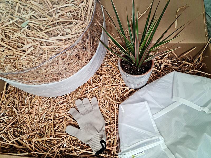20210514 145416 - DIY jardin : Fabriquer un pouf original avec de la paille