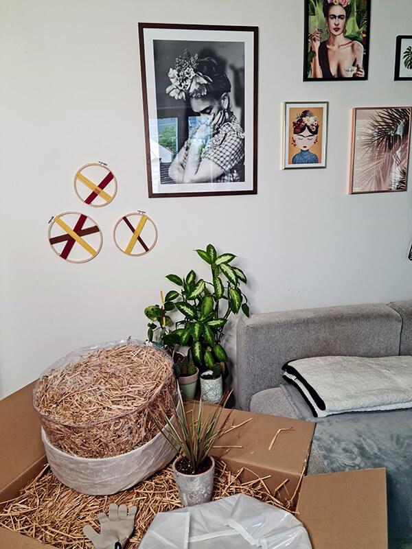 20210514 145456 - DIY jardin : Fabriquer un pouf original avec de la paille