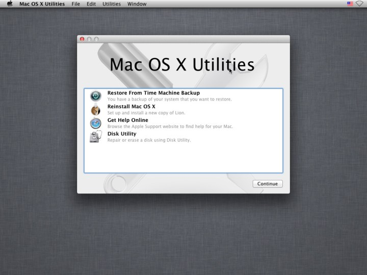 recovery macosx