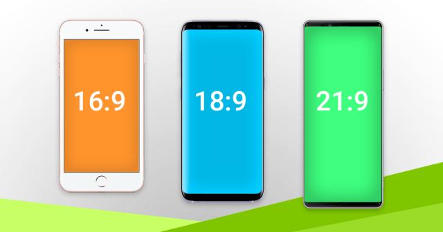 le 18:9 est le nouveau format d'écran de nos smartphones