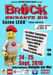 2ème Salon LEGO® Brick 66 @ Salle Bartissol - Banyuls sur Mer