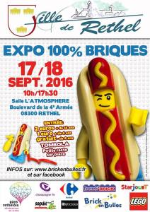 Exposition 100% LEGO® Brick En Bulles @ Salle L'atmosphère - Rethel