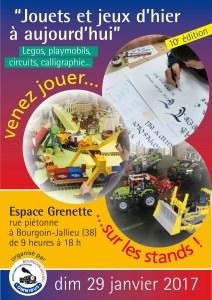Salon du jouet ancien @ Espace Grenette à Bourgoin-Jallieu