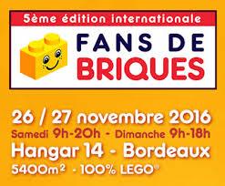Fans de Briques 2016 - Exposition 100% LEGO® @ Hangar 14 - Bordeaux
