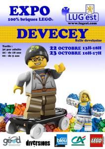 Exposition 100% LEGO® Devecey @ Salle Delveçoise - Devecey