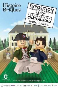 Histoire en Briques @ Les Cordeliers - CHÂTEAUROUX