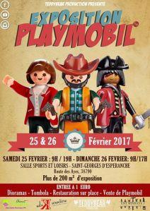 Exposition Playmobil @ Salle des sport et loisirs - St Georges d'Espéranche