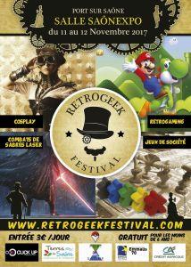 Retrogeek Festival @ Salle Saônexpo - Port sur saône