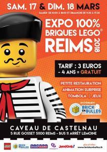 Exposition 100% LEGO® @ Caveau de Castelnau à Reims