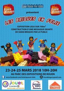 Exposition 100% LEGO® Les Briques en folies @ Parc des expositions de Rouen