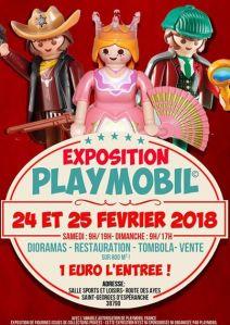 Exposition Playmobil® @ Salle Sports et Loisirs - St Georges d'Espéranche