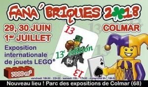 Exposition 100% LEGO® Fana'Briques 2018 @ Parc Des Expositions - Colmar