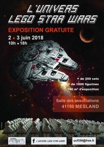 Exposition L'univers LEGO® Star Wars @ Salle des Associations de Mesland
