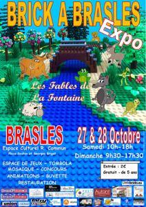 Exposition 100% LEGO® Brick à Brasles @ Espace Culturel de Brasles