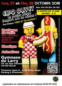 Exposition 100% LEGO® @ Gymnase du Larry - Olivet