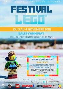 Festival LEGO® Récréabrick 2018 @ Salle Yann-Piat - La Londe-les-Maures