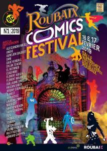 Roubaix Comics Festival 2019 @ Salle Henri Watremez - Roubaix
