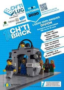 Exposition 100% Briques Ch'ti Brick Dinion @ Complexe Andrée Caron