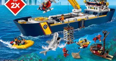 Les Bons Plans LEGO: Points VIP doublés pour le set City 60266