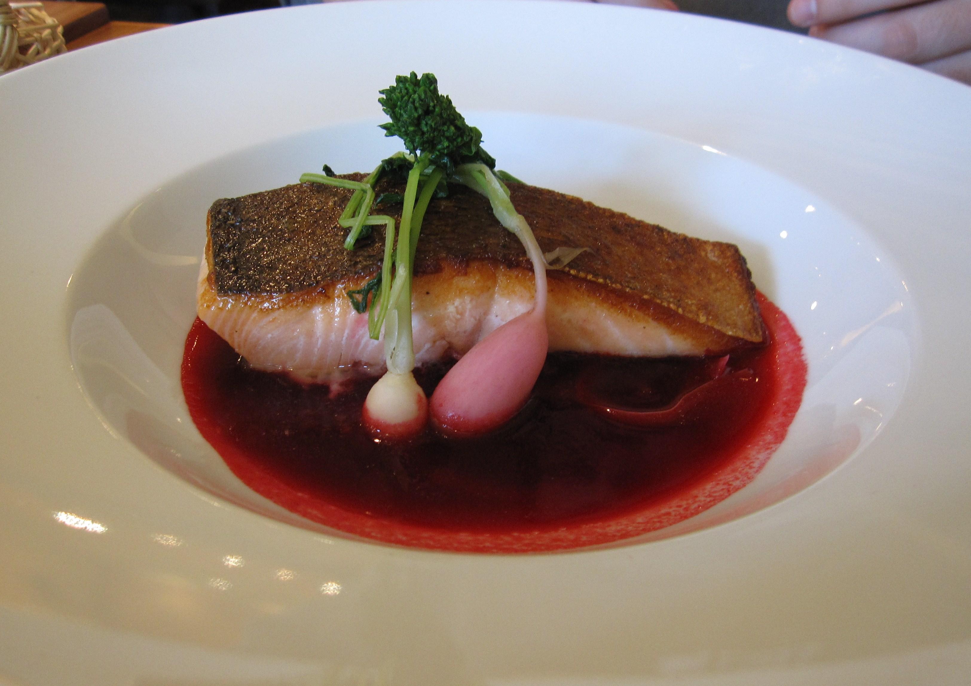 Organic Pacific salmon