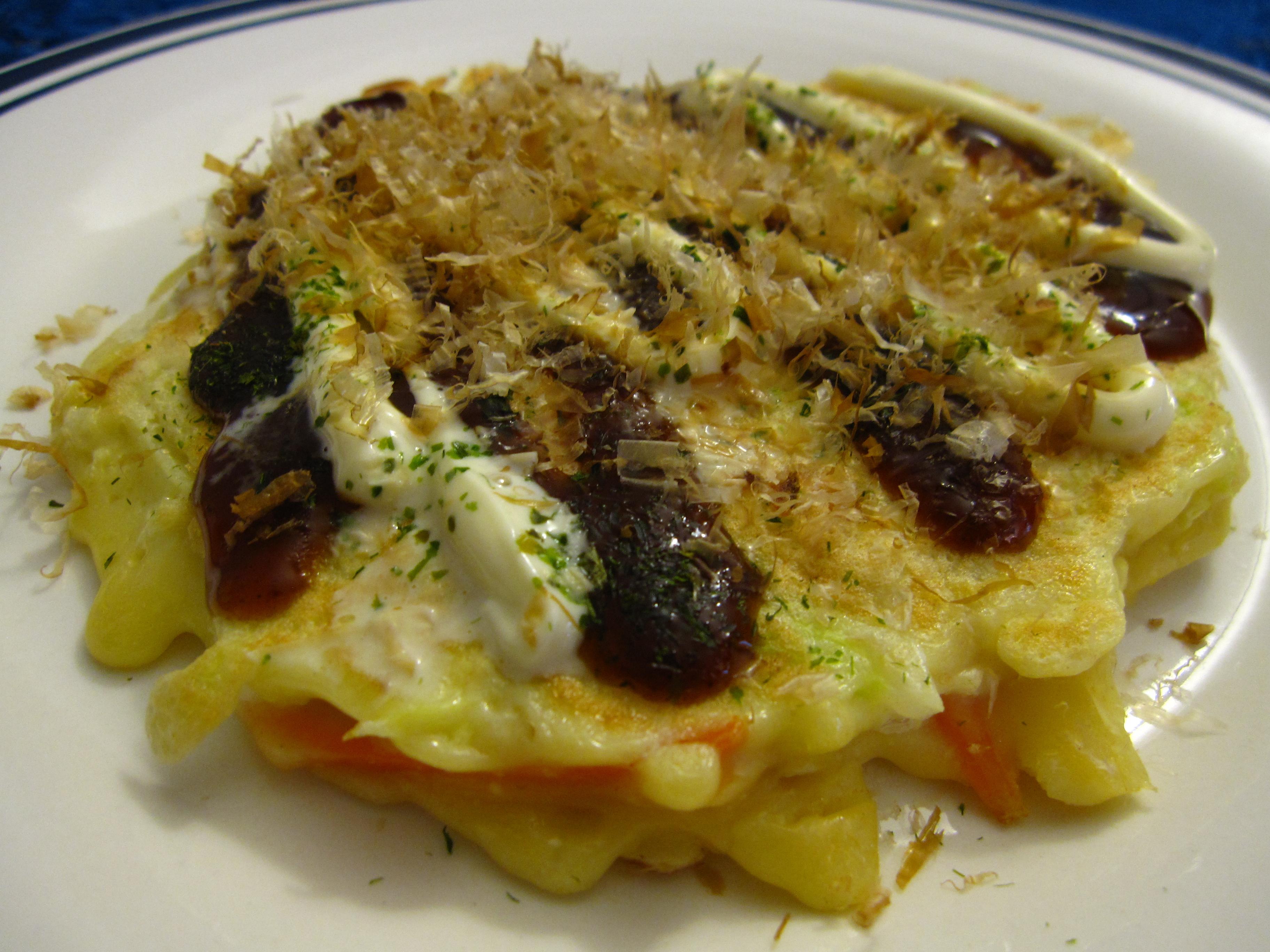 Okonomiyaki perfection
