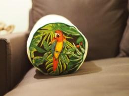 Motif tropical perroquets - tutoriel