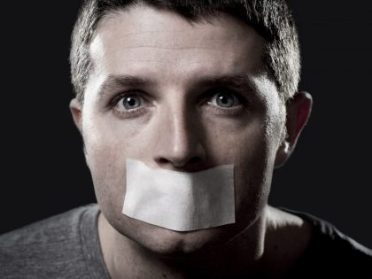 The 1st Amendment:  When Talking is Criminal