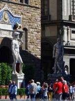 Entrance to the Palazzo Vecchio