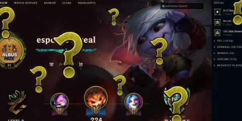 League client with missing pings