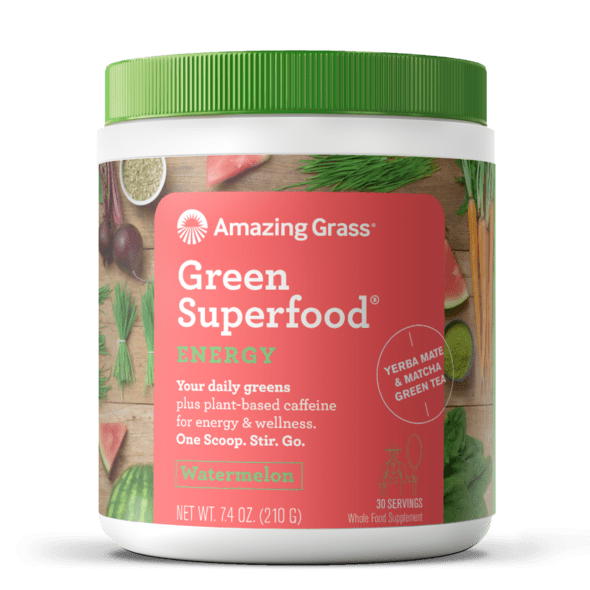 Amazing Grass Superfood Energy vị Watermelon