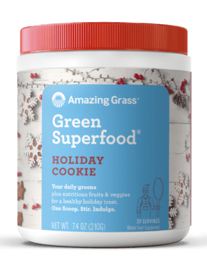 Amazing Grass GreenSuperfood_Holiday Holiday Cookie