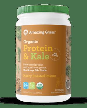 Amazing Grass Protein & Kale Honey Roasted Peanut