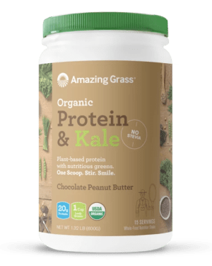 Protein Kale Chocolate Peanut Butter