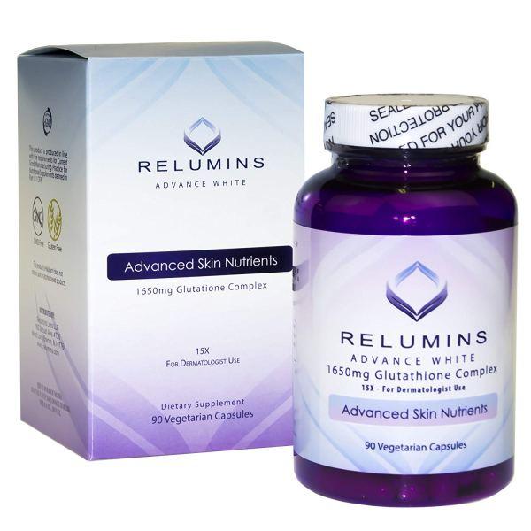 Relumins Advance White 1650mg Glutathione Complex (Relumins 15x)
