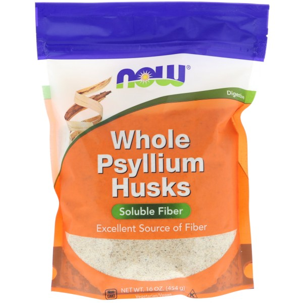 Nowfoods Whole Psyllium Husks 454gr