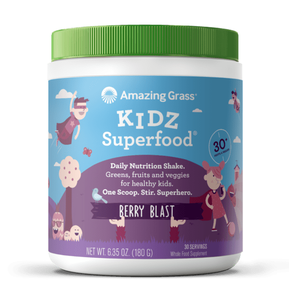 Amazing Grass Kidz Superfood vị Berry Blast