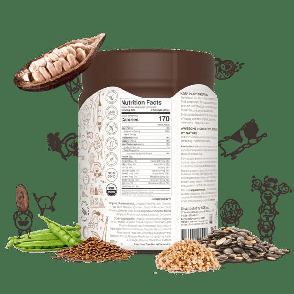 Kos Organic Plant Protein Chocolate