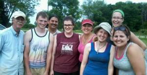 The 2015 Morton Village field crew (missing a few people)