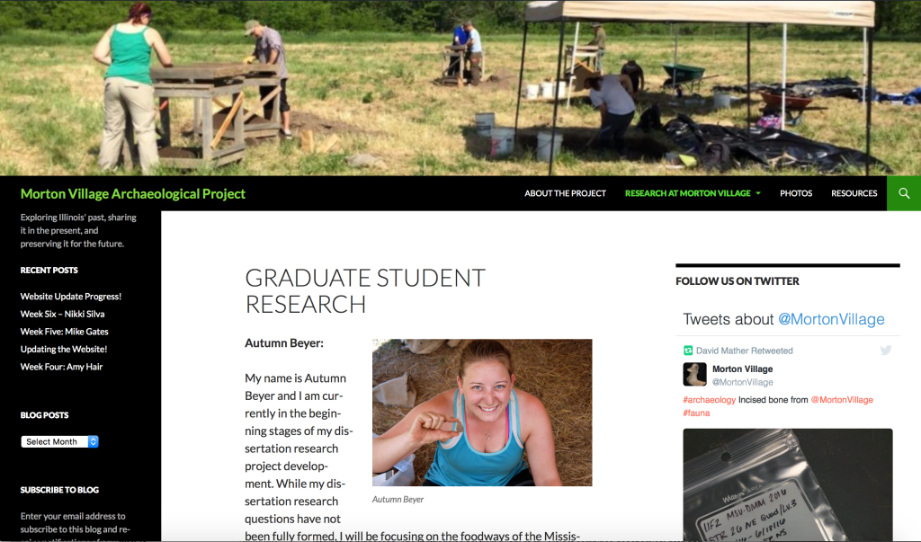 Graduate Student Research Page