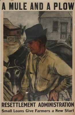 Poster of the Resettlement Administration