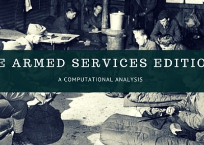 The Armed Services Editions: Computational Analysis