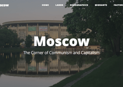 Moscow: The Corner of Communism and Capitalism
