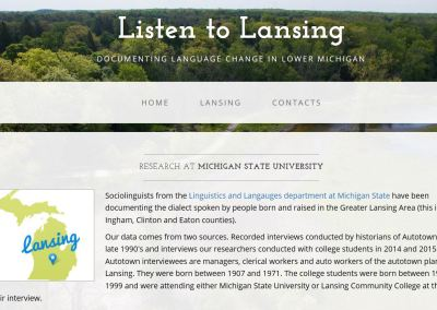 Listen to Lansing