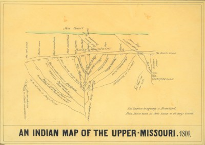 Mapping the Upper Missouri: Visualization Negotiation, Diplomacy and Culture on the the Northern Plains, 1801-1853