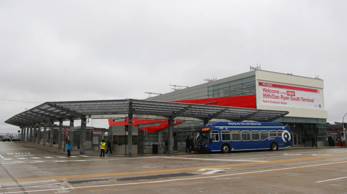 Check Out the New South Terminal of the 95th Street Stop