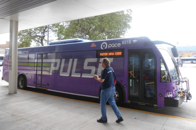 Taking the Pulse of Pulse, Pace's Milwaukee Express Bus