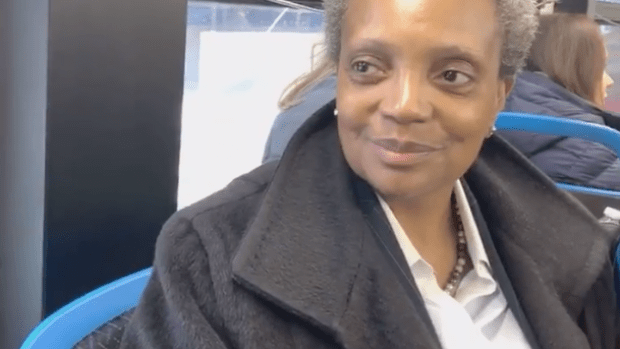 Get on the bus: Discussing the fair ride-hail tax with Mayor Lightfoot on our ride to work