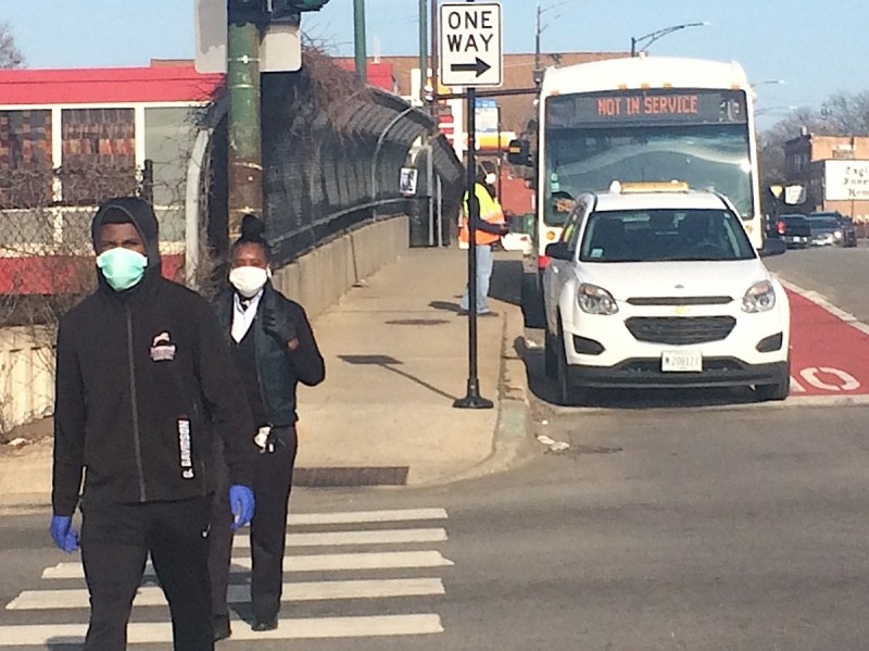photo of Chicago Gets Pop-Up Pandemic Bus Lanes image