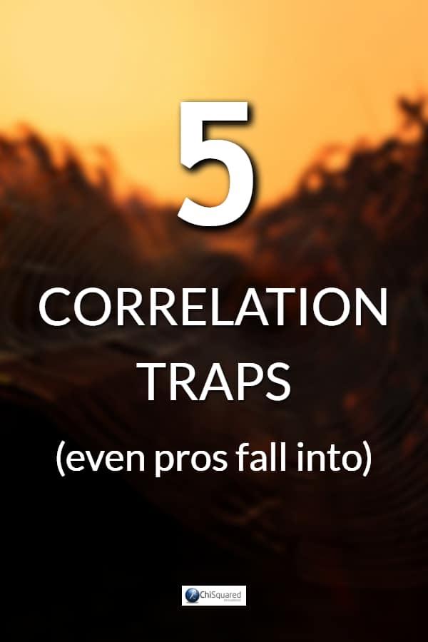 5 correlation traps even pros fall into#correlation #statistics #correlationcausation