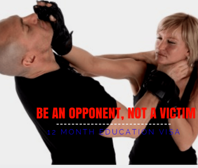 12 Month Self Defense Ed Visa
